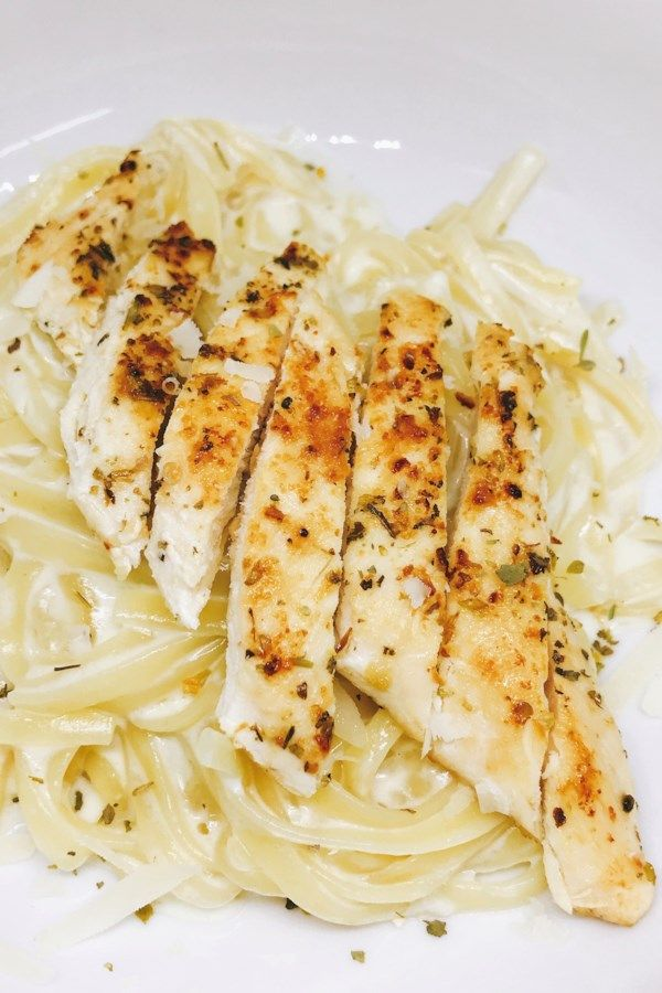 Quick One-Pot Chicken Alfredo images