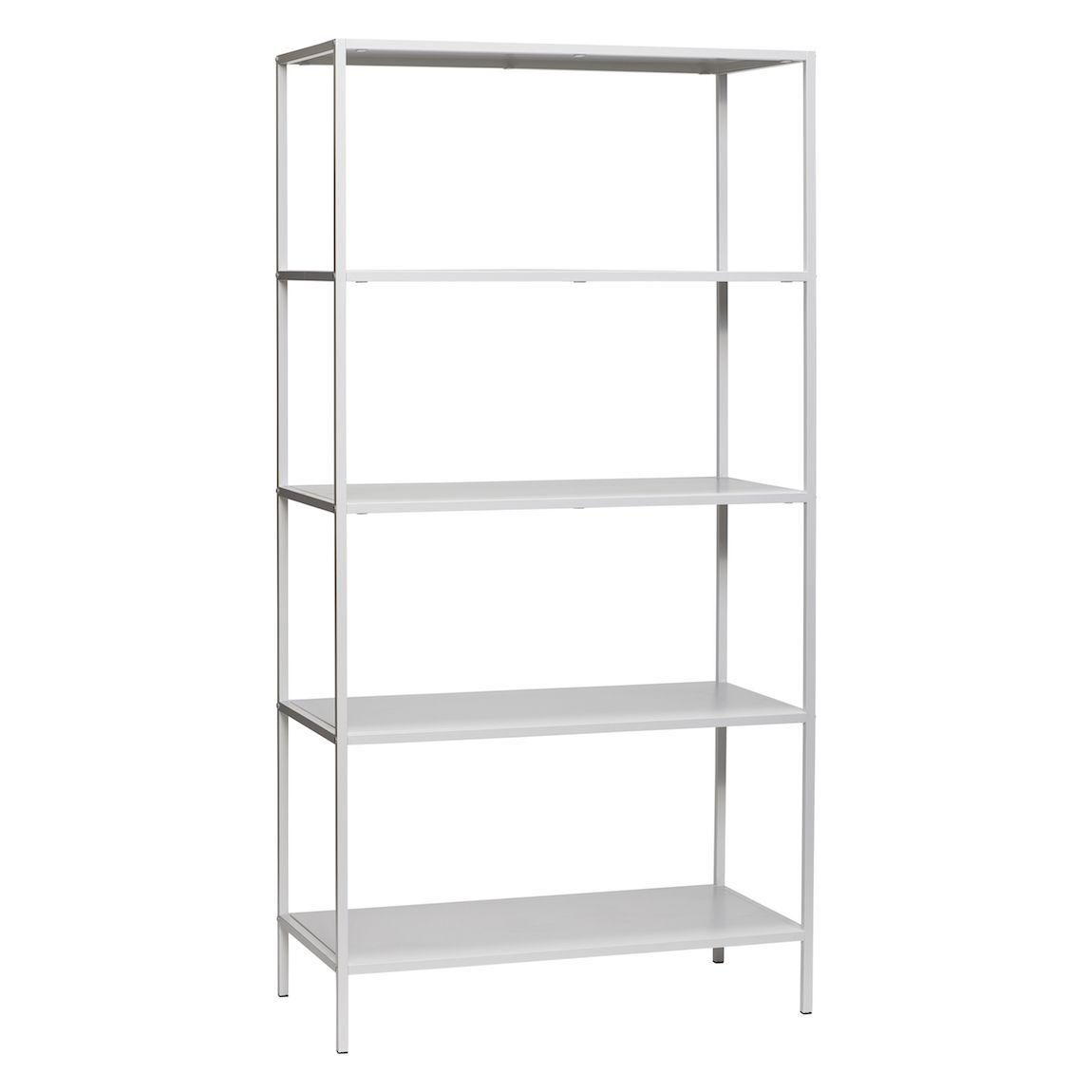 Hübsch Interior Metallregal in Weiß oder Schwarz kaufen