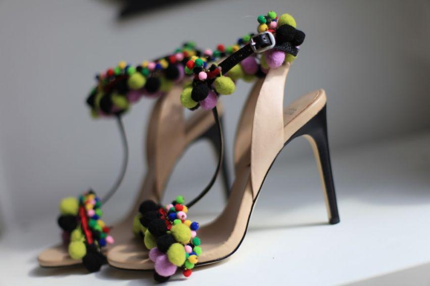 Asos Pom Pom shoes!