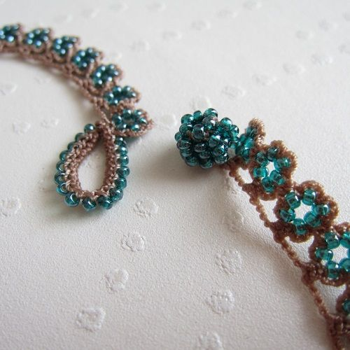 Oya Beads Crochet Necklace Pinterest Crochet