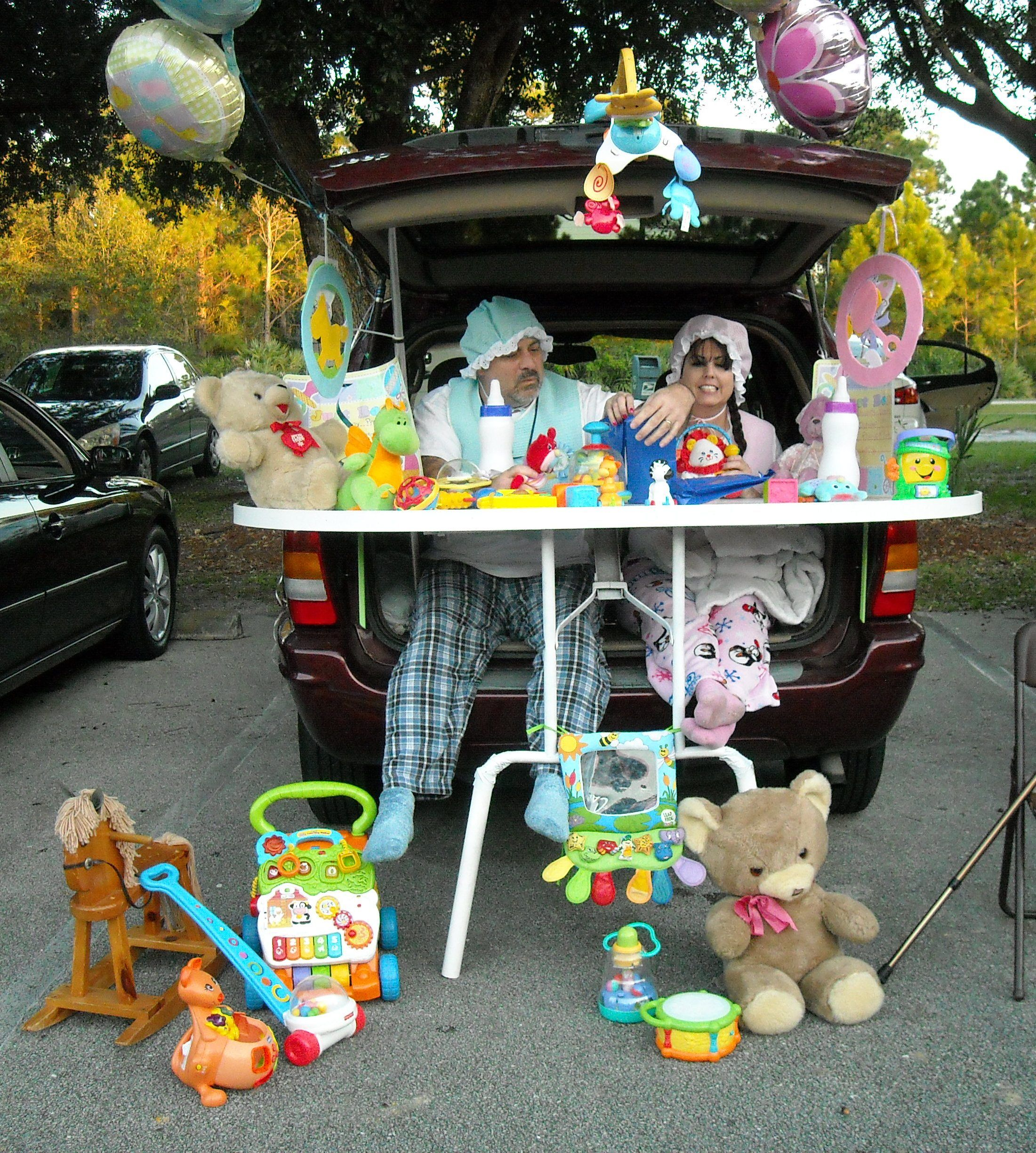 Simple Wedding Car Decoration Ideas: 1st Prize! Trunk Or Treat! (With Images)