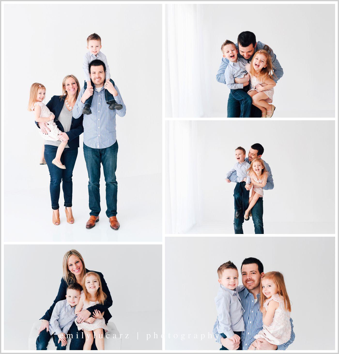 H family mini in studio emily lucarz family for Creative family photo shoots