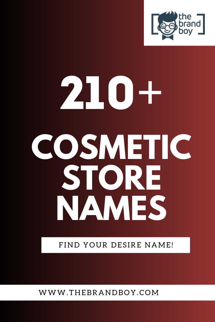 457 Catchy Cosmetic Company Name Ideas Video Infographic Cosmetics Names Ideas Catchy Business Name Ideas Cosmetic Companies