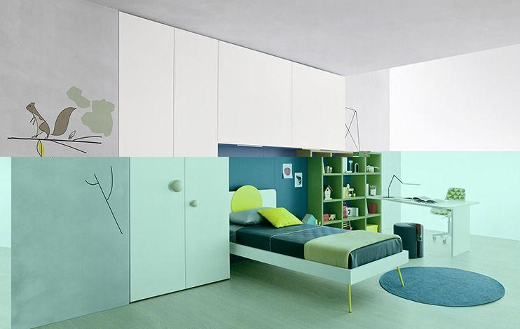 Letti A Castello Battistella.Children Bedroom Furniture For Children Battistella Camera Da