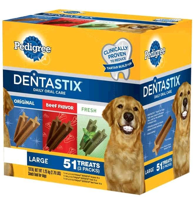 Pedigree Dentastix Treats For Dogs Have A Special Chewy Texture