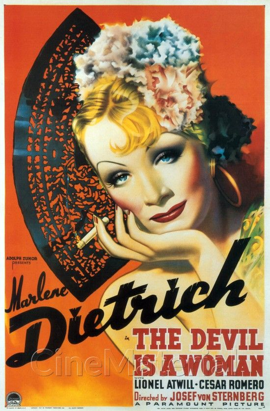 The Devil Is a Woman movie poster