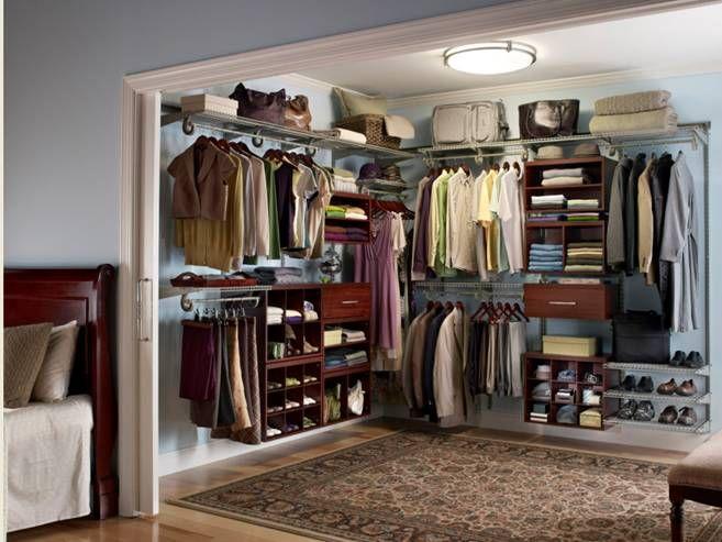 ClosetMaid's ShelfTrack Elite gives your closet simple ...