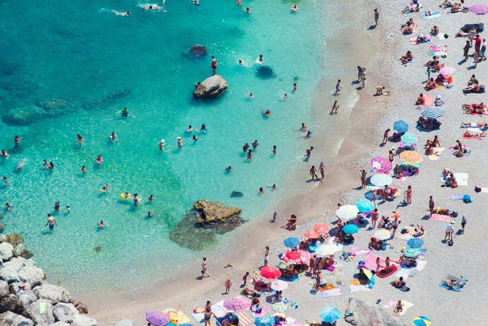 9 of the best Mediterranean beach clubs to visit by superyacht  |Capri Beach Scenes
