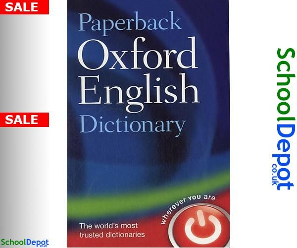 Oxford English Dictionary Paperback Discounts For Teachers English Dictionaries World Dictionary