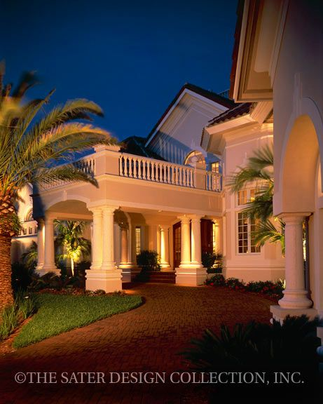 Milano Home Plan Sater Design Collection Luxury House Plans