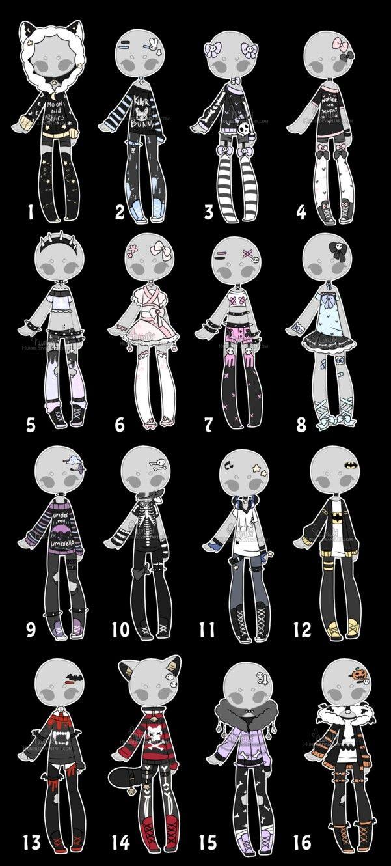Pin by Sina Hüttig on игровая одежда и другие вещи  Drawing anime