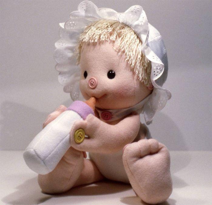 Мягкие куклы для начинающих