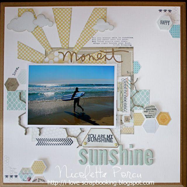 I Love Scrapbooking: Sunshine Lo - Timbroscrapmania #75 - The summer Sun