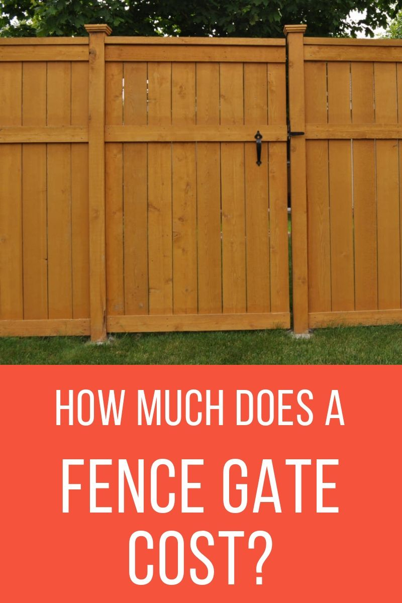Cost To Install A Fence Gate In 2020 Inch Calculator Fence Gate Fence Design Fence