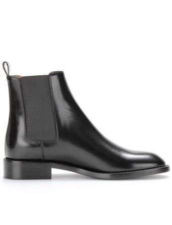 Saint Laurent - LEATHER CHELSEA BOOTS