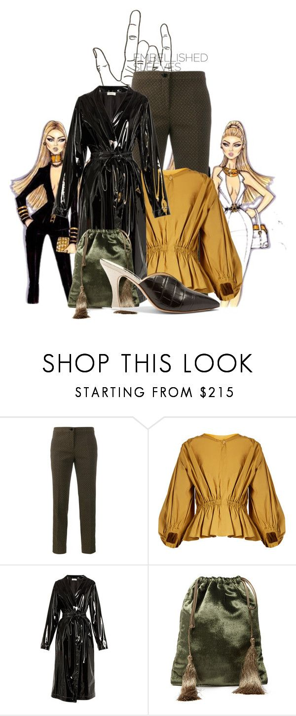 """""""Embellished Sleeves- Puffed sleeves"""" by peeweevaaz ❤ liked on Polyvore featuring Olsen, Etro, Sonia Rykiel, Attico, outfit, polyvoreeditorial, polyvorefashion and embellishedsleeves"""