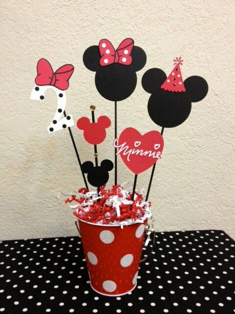 Pin by Asser Samir on Minnie Mickey mouse birthday party