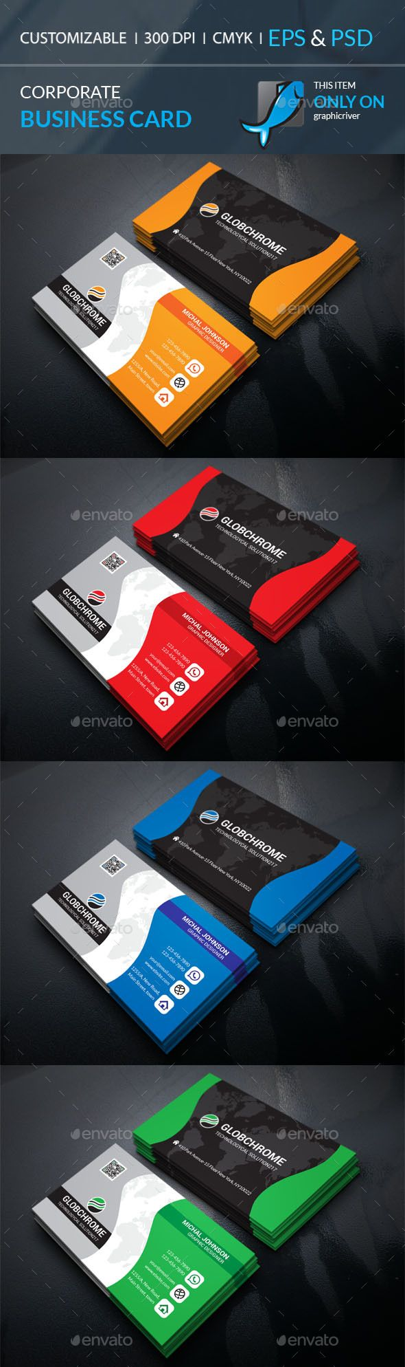 Corporate Business Card | Tarjetas