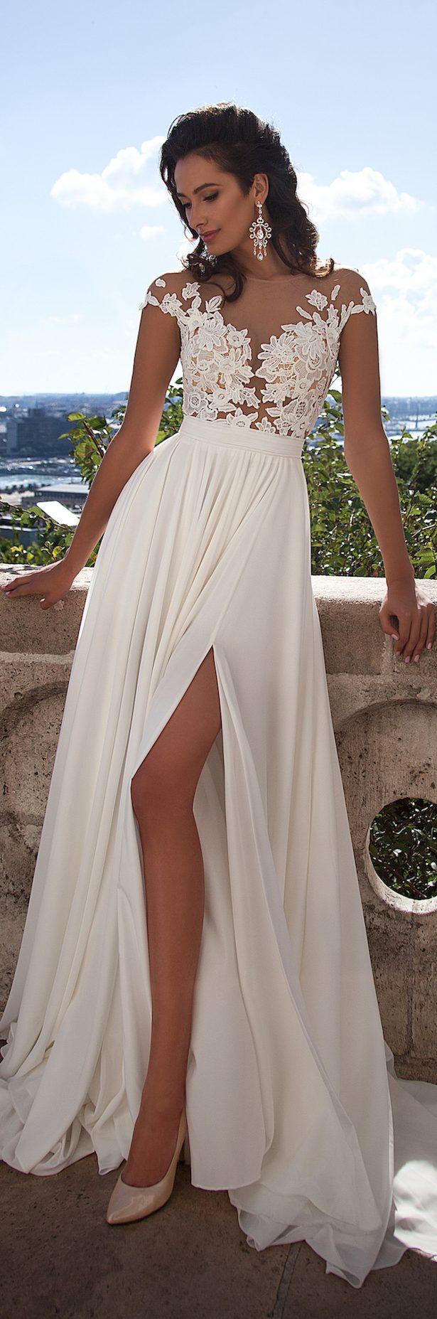Milla Nova 2016 Bridal Collection Lace beach wedding