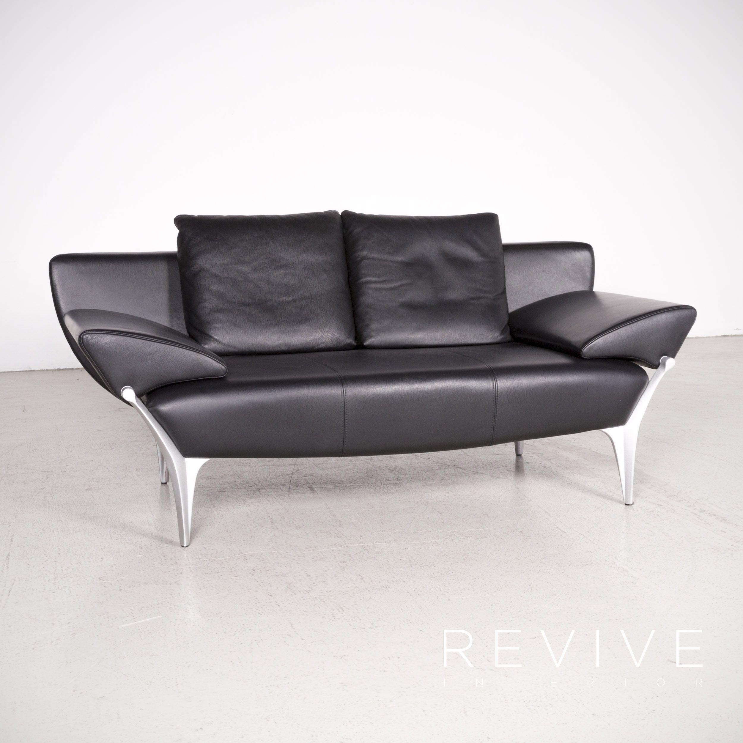 67 Begrenzt Couch Schwarz