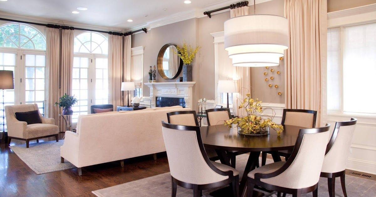 Small Apartment Living Room Dining Combo Decorating Ideas