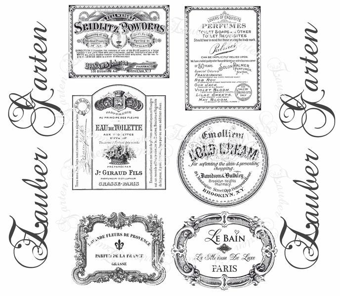 6 Transparente Aufkleber Etiketten Label Sticker Im