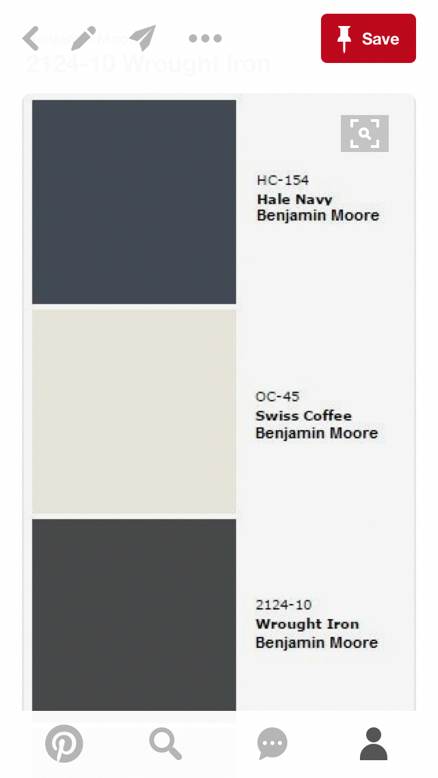 Hale Navy, by Benjamin Moore for the accent walls in the mudroom. #decoratinghomerusticbookshelves #halenavybenjaminmoore