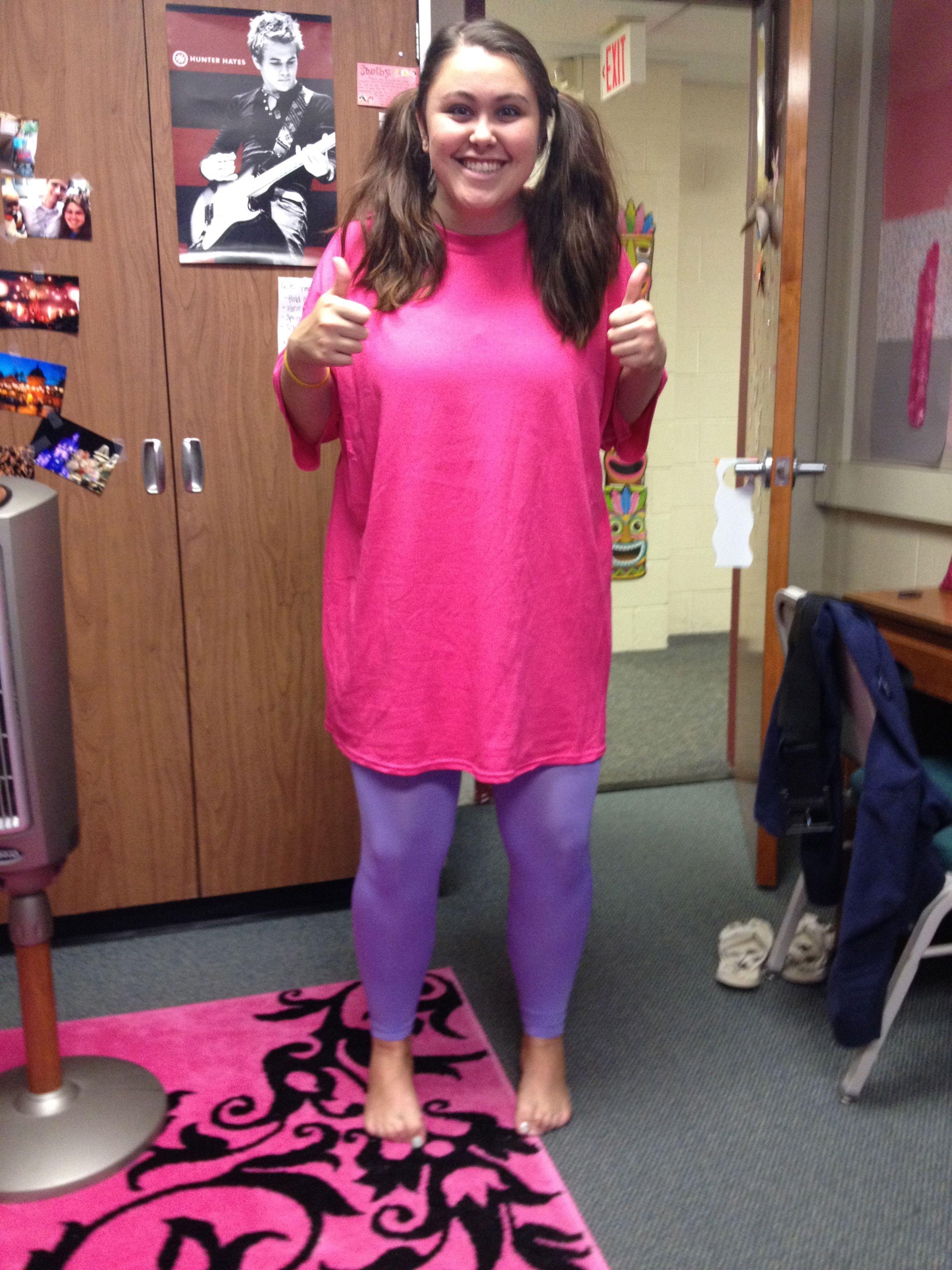 6d2f572ba48 Boo is the perfect halloween costume!! Just add some oversized socks  )   disney  boo  monstersinc.  love