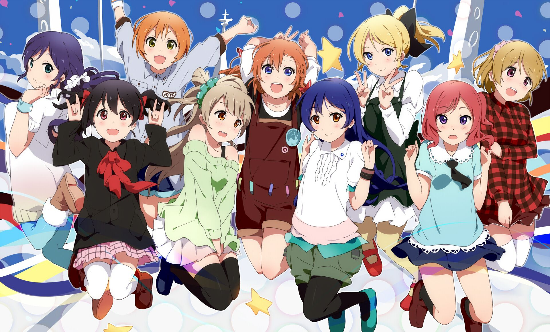 Love Live School Idol Project Wallpaper Wallpapersafari Anime