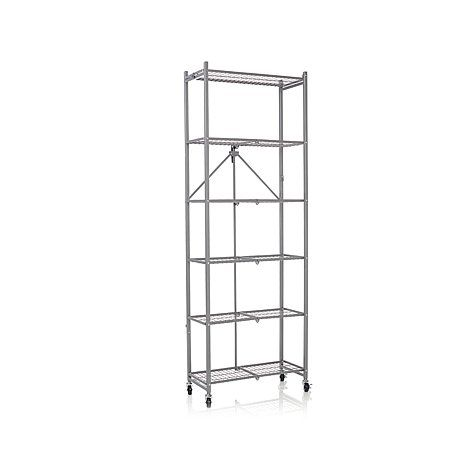 Origami 6 Shelf Folding Rack At Hsn Com 110 Sh