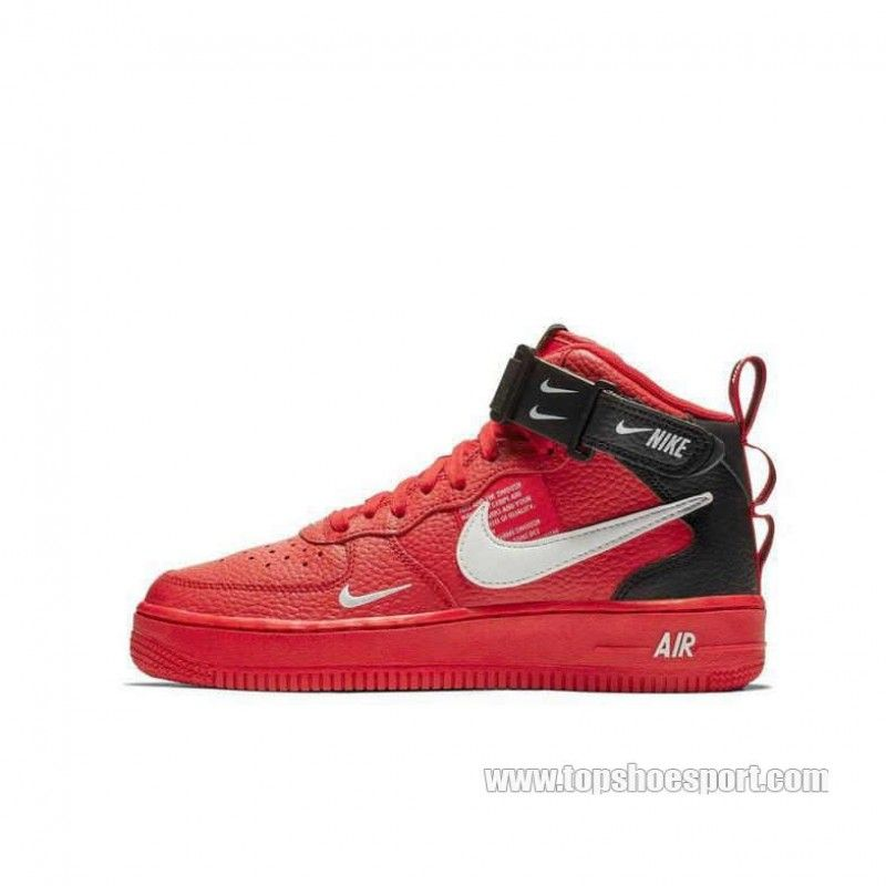 brand new b6f41 a6fa0 激安 Nike Air Force 1 Mid LV8 AV3803-600 ナイキ エアフォース1 LV8 レッド