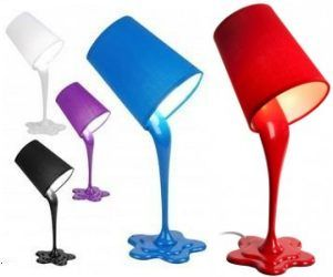 lampe pot de peinture renvers un design original cr atif et in design pinterest pots. Black Bedroom Furniture Sets. Home Design Ideas