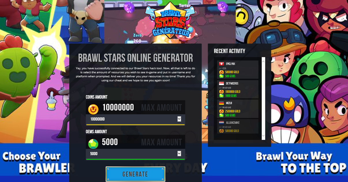 100 Working Brawl Stars Hack Gems Generator No Human Verification How To Get Free Gems In 2020 Free Gems Game Gem Play Free Online Games