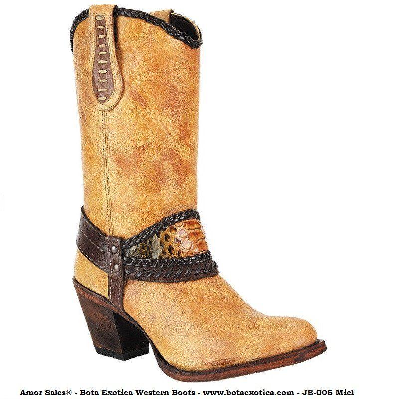 7c52fbdf21 JB-005 - Botas Vaqueras para Mujer