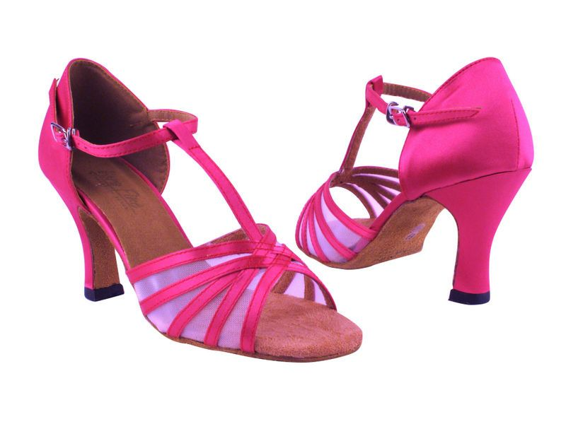 Girls Youth Latin Salsa Very Fine Ballroom Dance Shoes 6005G Tan Brown Satin