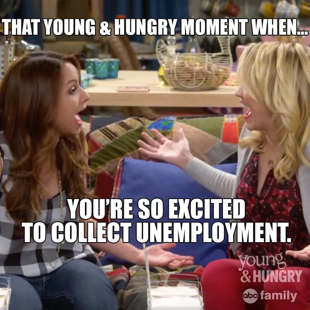 That young and hungry moment when...   #YEAH #YoungAndHungry