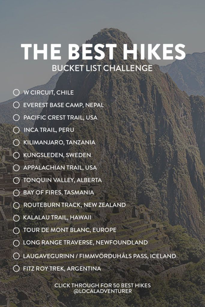 Photo of 25 Best Hikes in the World to Put on Your Bucket List » Local Adventurer