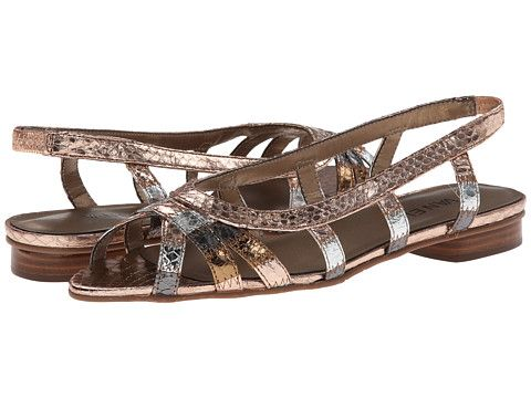 Womens Sandals Vaneli Ashely Multi Met Whip Snake