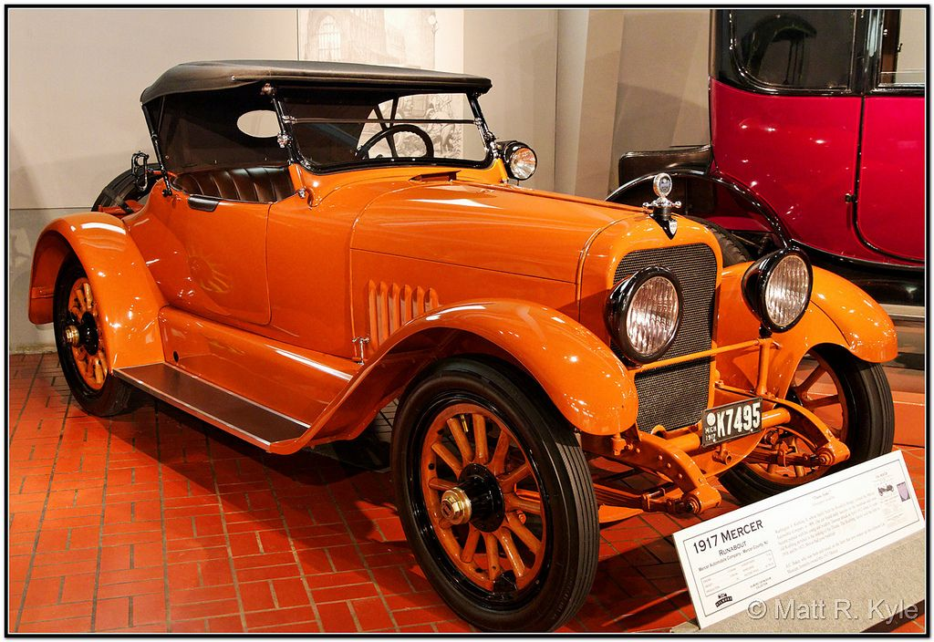 1917 Mercer Runabout (2) | Motor Vehicles 1900-1920