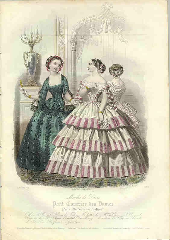 1854 fashion plate