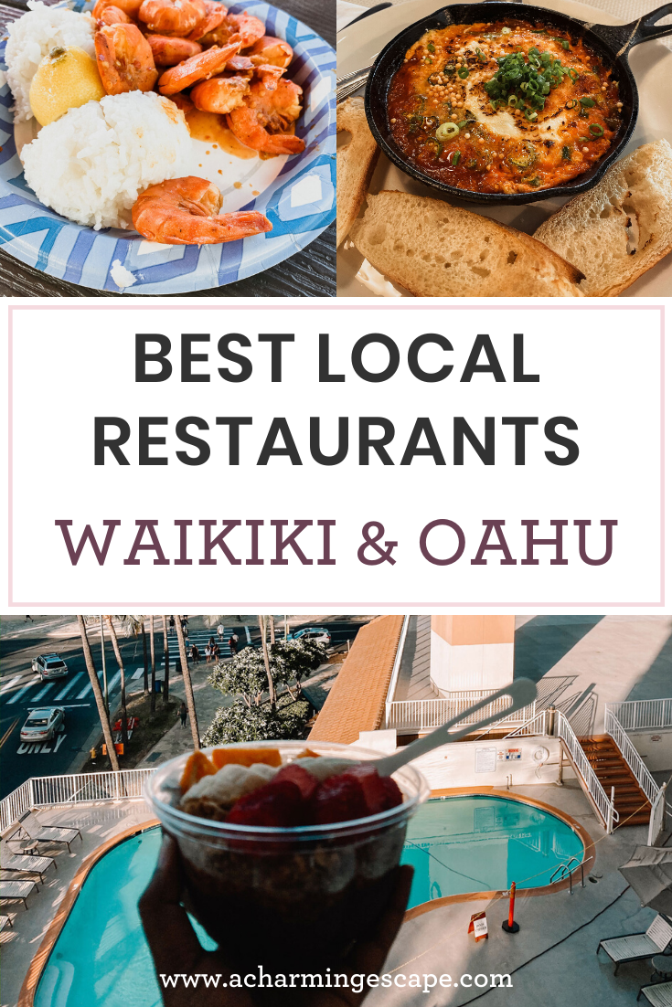Best Local Food In Waikiki Oahu A Charming Escape In 2020 Foodie Travel Travel Food Hawaii Food