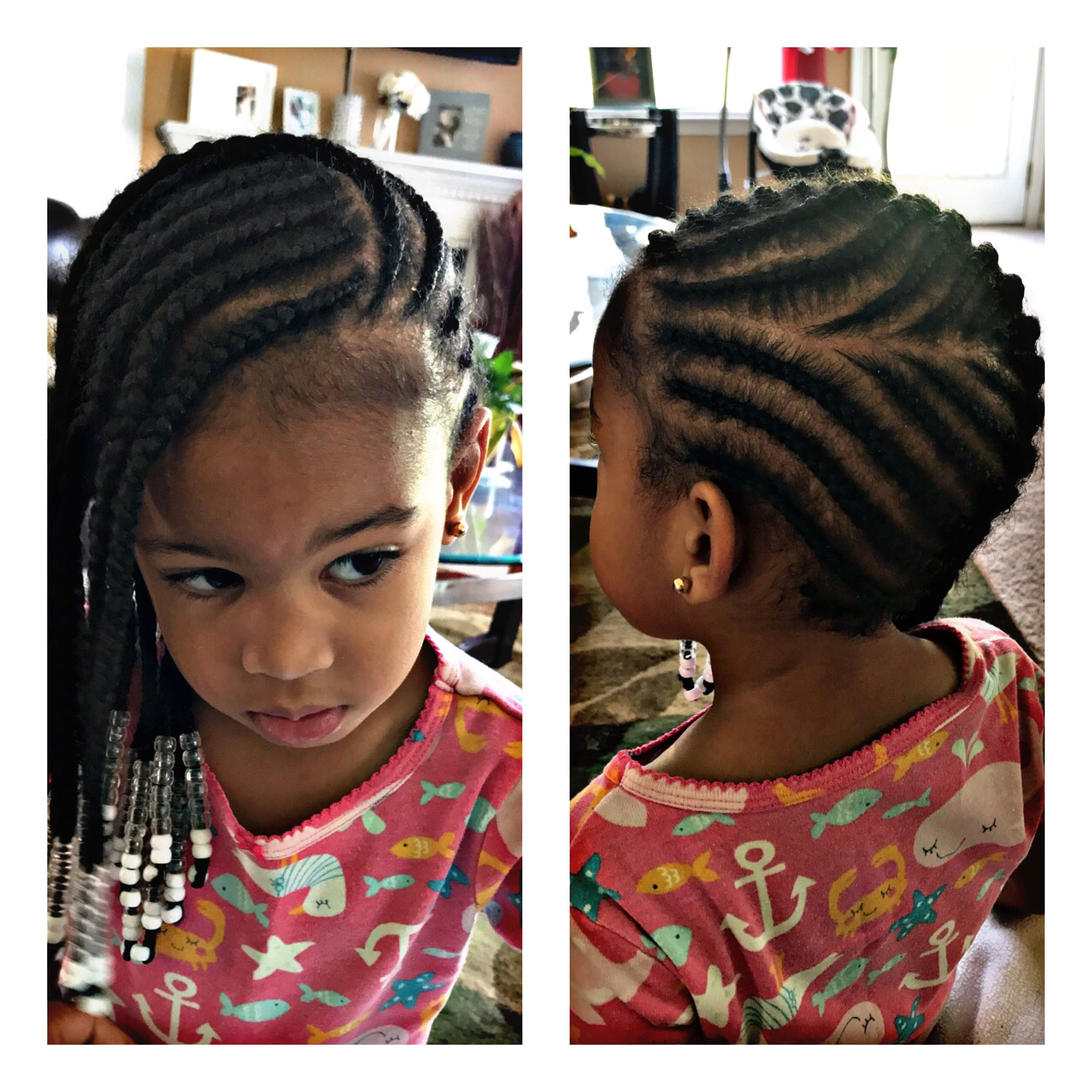 Kids Lemonade Braids Not A Picture Of Fresh Braids They Are Two Weeks Old Still Look Great Baby Girl Hairstyles Hair Styles Little Girl Braids