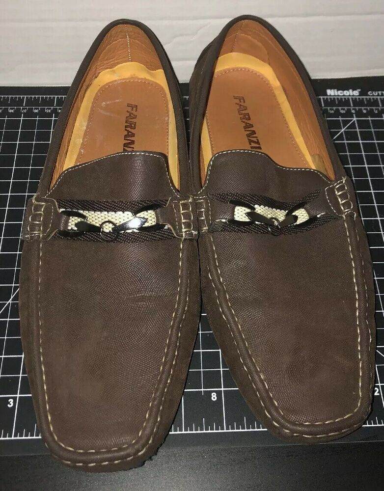 Mens FARANZI Loafers Slilp On Shoes