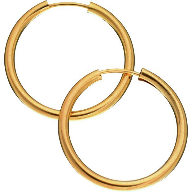 Revere 9ct Gold Hoop Earrings At Argos Co Uk Your Online