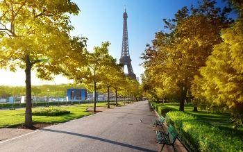 Fond D Ecran Hd Arriere Plan Id 541999 Tour Eiffel Ile De France Eiffel
