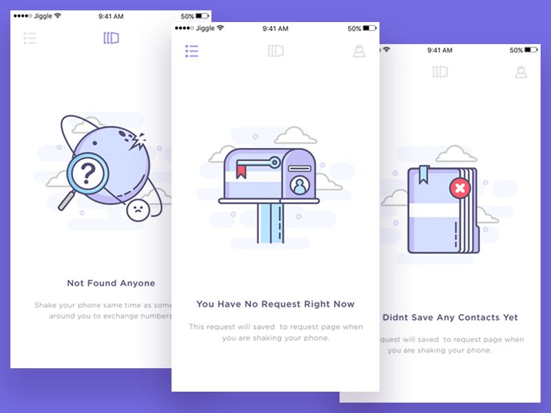 Empty State For Exchanging Number Apps by Sebo #Design Popular #Dribbble #shots