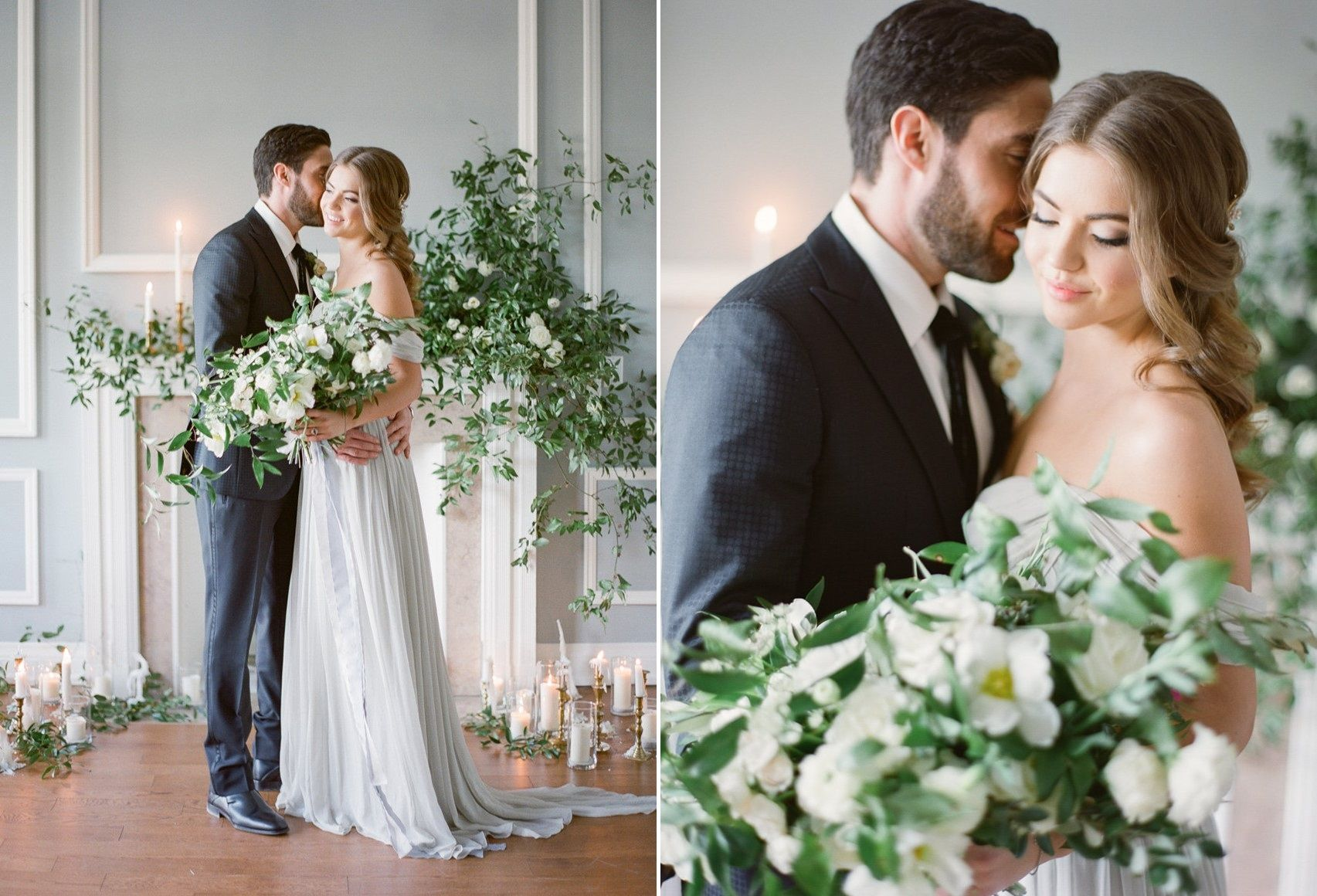 Modern Vintage Wedding Inspiration // Photography ~ Artiese Studios