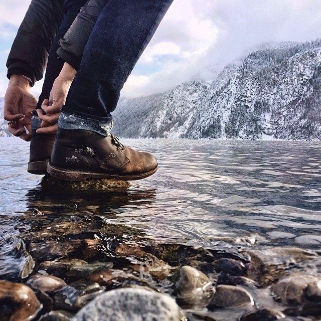Below my feet. #northwestisbest