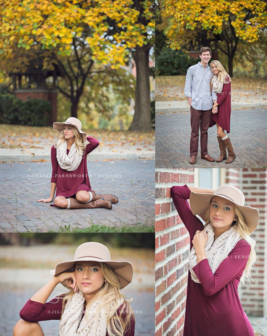 Samanthas Fall Senior Pictures in Excelsior Sprints, MO by