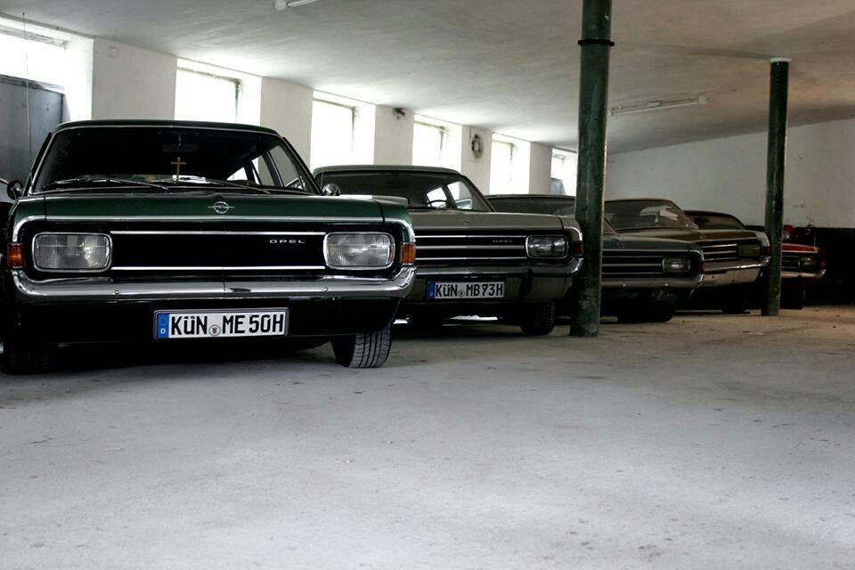 line up | Old School Opel | Pinterest | alte Autos, Autos und Autos ...